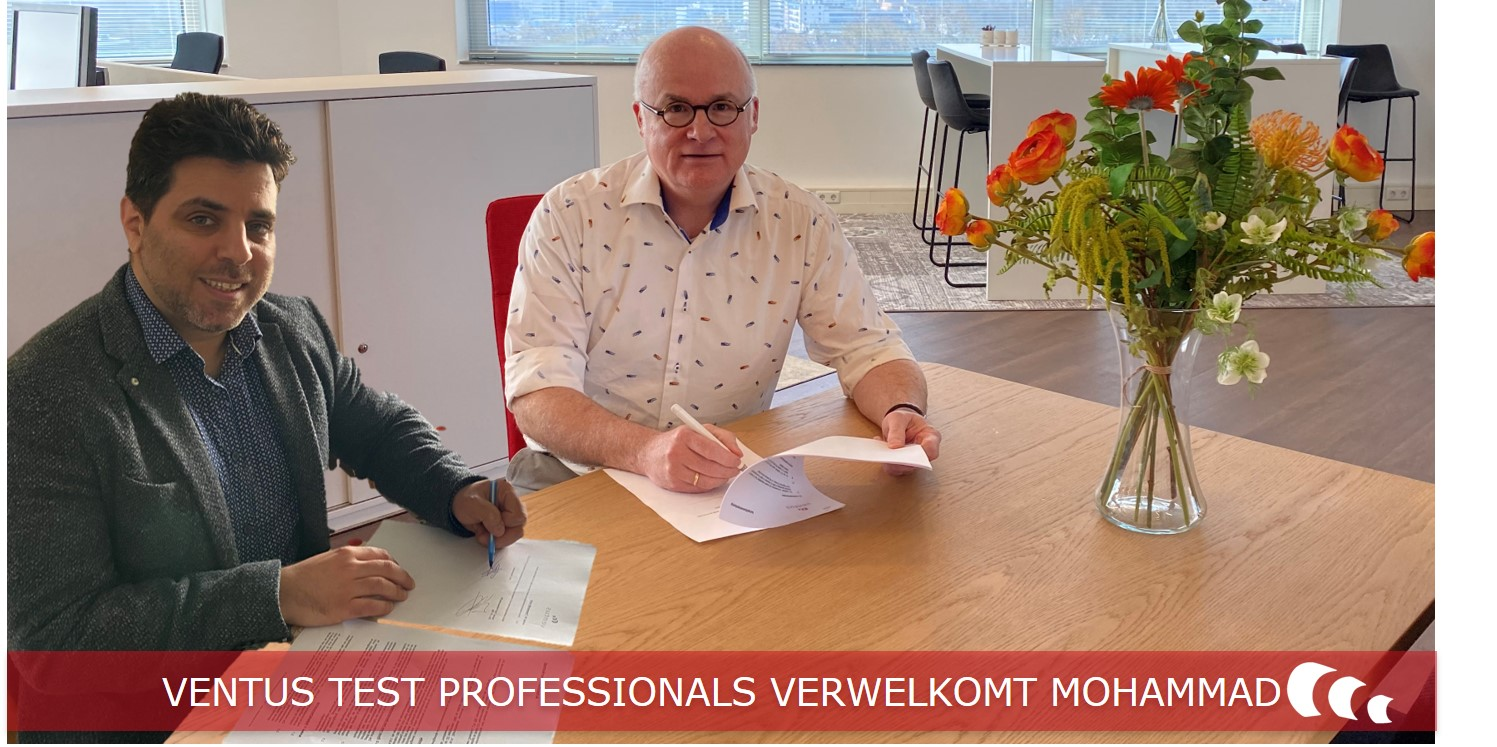 Tekenen contract Mohammad